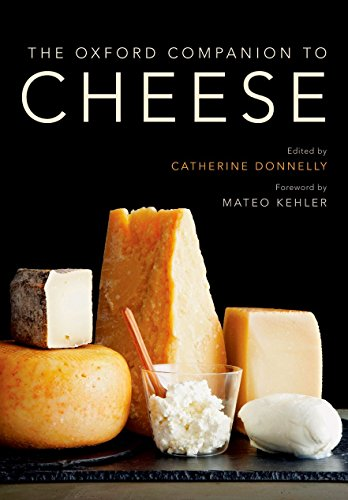 The Oxford Companion to Cheese de OUP USA
