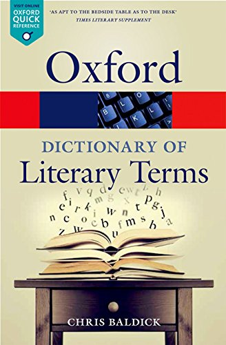 The Oxford Dictionary of Literary Terms de OUP Oxford