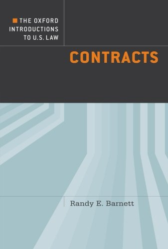 The Oxford Introductions to U.S. Law: Contracts de Brand: Oxford University Press USA