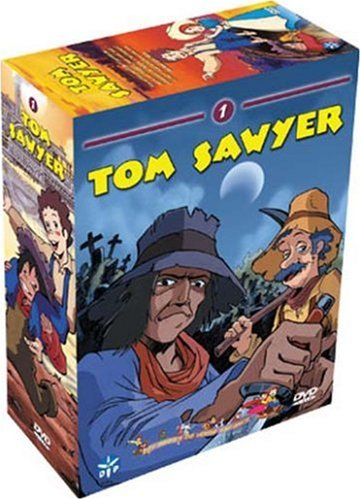 Tom Sawyer - Box 1, Coffret 4 DVD (24 épisodes) de Manga Distribution