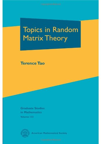 Topics in Random Matrix Theory de American Mathematical Society