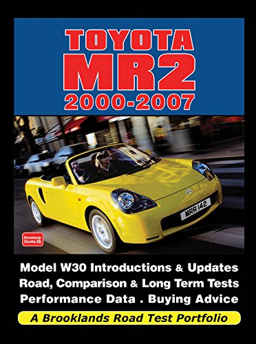 Toyota MR2 2000-2007 de Brooklands Books Ltd