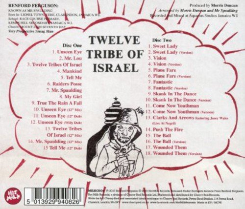 Twelve Tribe of Israël Anthology de Cherry Red