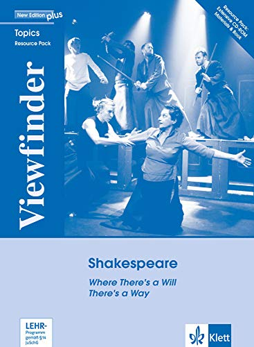 """Viewfinder Topics, New Edition plus : Shakespeare, Resource Book plus CD-ROM Where There's a Will There's a Way [import allemand]"" de Langenscheidt Bei Klett"