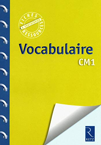 Vocabulaire CM1 de Retz