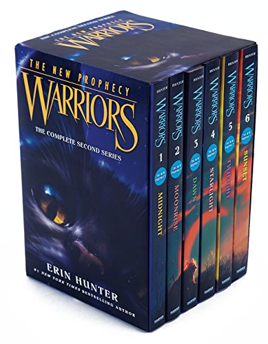 Warriors: The New Prophecy Box Set: Volumes 1 to 6: The Complete Second Series de HarperCollins