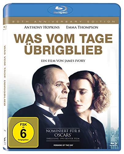 Was Vom Tage Brigblieb [Blu-ray] [Import anglais] de Sony Pictures Home Entertainment Gmbh