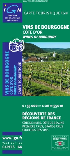 Wines of Burgundy de Institut Geographique National