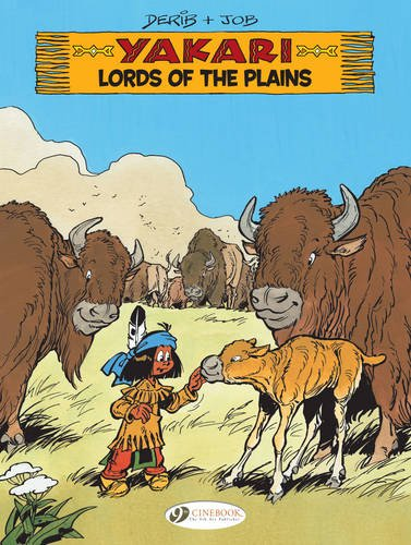 Yakari, Tome 14 : Lords of the Plains de Cinebook Ltd