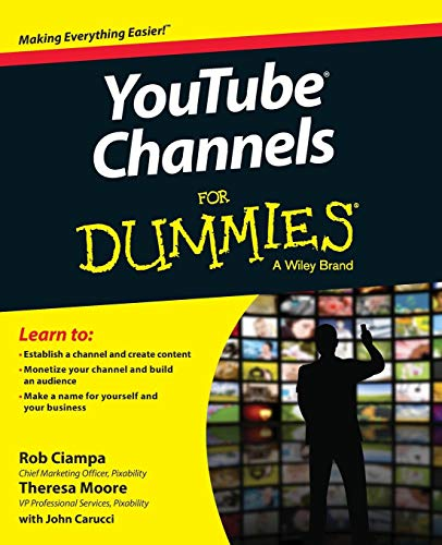 YouTube Channels For Dummies de John Wiley & Sons