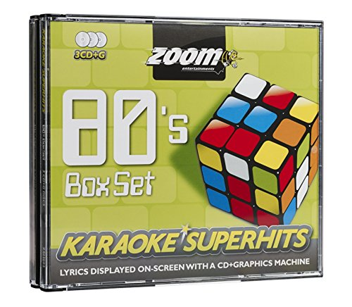 Zoom G-80s Superhits 1-Triple CD+G Karaoke Pack Anglais [Import] de Zoom Karaoke