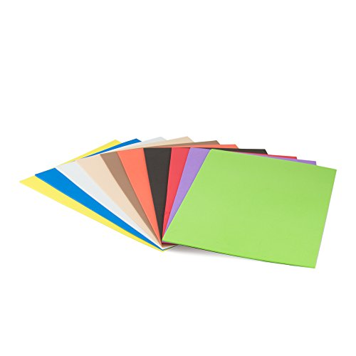 Pryse 5000000 Lot de 10 planches 20 x 30 cm, multicolore de Pryse
