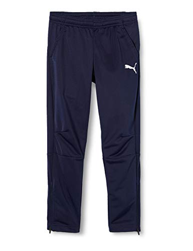 8dbc154b1fcf4 Puma Liga Training Pants - Pantalon de survêtement - Mixte Enfant - Bleu  (Peacoat White
