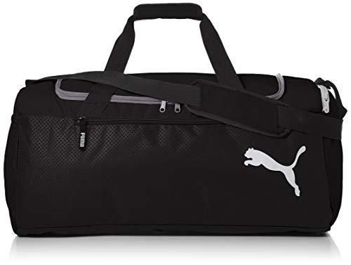 Puma Fundamentals Sports Bag M Sac Mixte Adulte, Black, OSFA de Puma