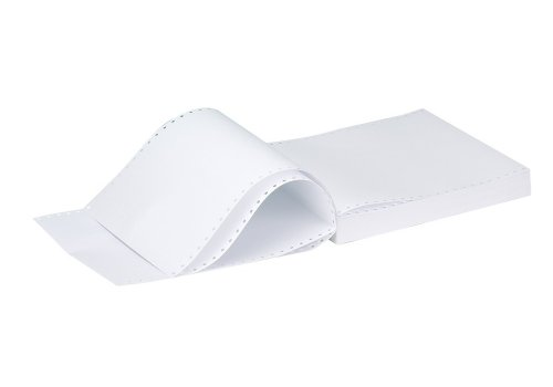 """Q Connect 27,9 cm Papier listing Uni et perforé 3 parties NCR Lot de 700)"" de Q-Connect"