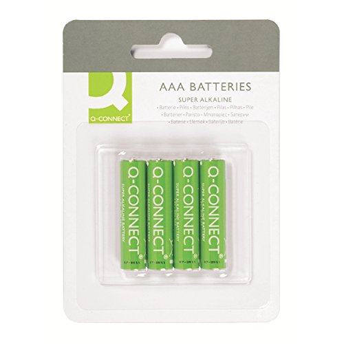 Q-Connect-Batterie-AAA-Lot de 4 de Q-Connect