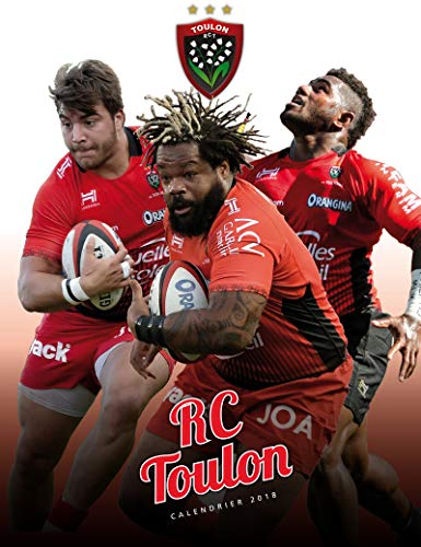 Calendrier mural Rugby Club Toulon 2018 de RCT