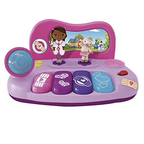 REIG/docmcstuffins - 5200 - Piano Electronique avec Figurines Et Micro - Doc MC Stuffins de REIG