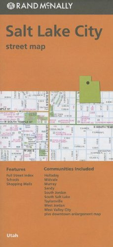 Rand McNally Salt Lake City Street Map: Utah de Rand McNally & Company