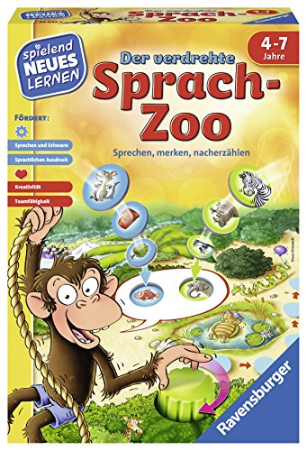 Ravensburger 24945 la verdrehte Vocal Zoo Jeu éducatif de Ravensburger