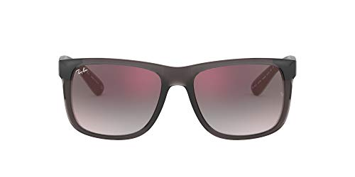 39599261c672c Lunettes de Soleil Ray-Ban JUSTIN RB 4165 TRANSPARENT GREY GREY RED SHADED  homme