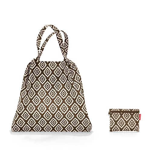 Reisenthel Mini Maxi loftbag Sac de Plage, 64 cm, 25 liters, Marron (Diamonds Mocha) de reisenthel