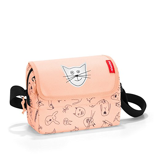 Reisenthel everydaybag Kids Sac bandoulière if3064, 20 cm, 2,5 L, Cats and Dogs Rose de Reisenthel
