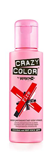 Renbow Crazy Color No 56 FIRE Crème Semi-Permanent 100 ml de Renbow