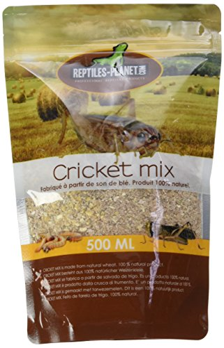 REPTILES PLANET Nourriture pour grillons Cricket Mix 500 ml - de Reptiles Planet