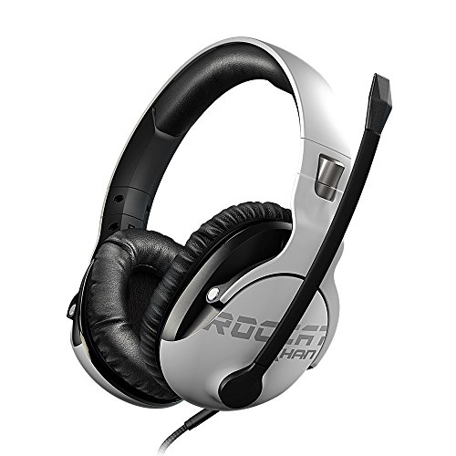 Roccat Khan Pro - Casque Gaming son Hi-Res, dédié aux compétitions eSport (jack stereo 3,5mm, poids plume 230g, compatible multiplateforme : PC, Mac, PS4, Xbox One, Nintendo Switch, et mobiles) de Roccat