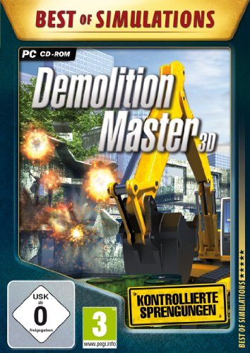 Best of Simulations : Demolition Master 3D [import allemand] de Rondomedia