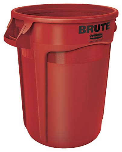 Rubbermaid Commercial Products FG263200 -Poubelle - Rouge - 121.1 L de Rubbermaid Commercial Products