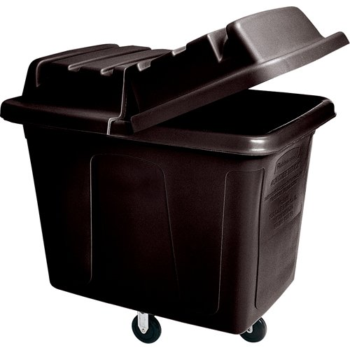 Rubbermaid Commercial Products FG461200BLA Chariot Cubique Rubbermaid 0,3m, Noir de Rubbermaid Commercial Products