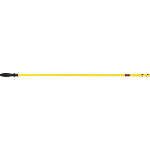 Rubbermaid Commercial Products FGQ75000YL00 Manche Quick Connect Hygen, 147,32 cm à Fixer Droit, Jaune de Rubbermaid Commercial