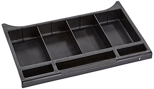 Rubbermaid Commercial Products FG619900BLA Tiroir de Rangement à Serrure de Série Executive pour Chariots d'Étage, Noir de Rubbermaid Commercial Products