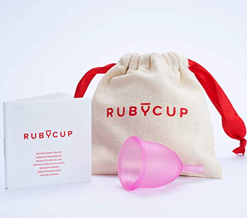 Coupe menstruelle Petite taille Ruby Cup - Rose de Ruby Cup