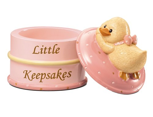 Diddy Duck Girl Little Keepsake Box ~ D de Russ