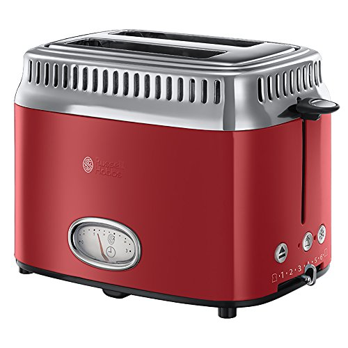 Russell Hobbs 21680-56 Grille-pains 2 fentes Rouge  1300 W de Russell Hobbs