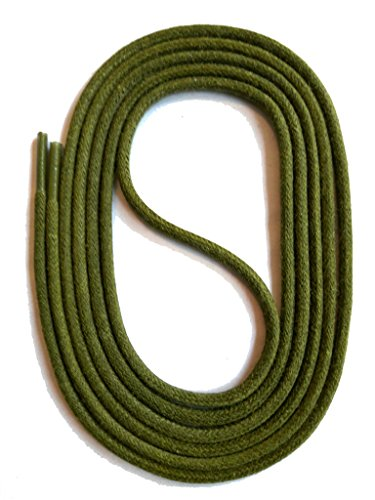 "SNORS LACETS de COULEUR ronds cirés KHAKI 75 cm 29.5"" 2-3mm - Dentelles de SNORS shoefriends"