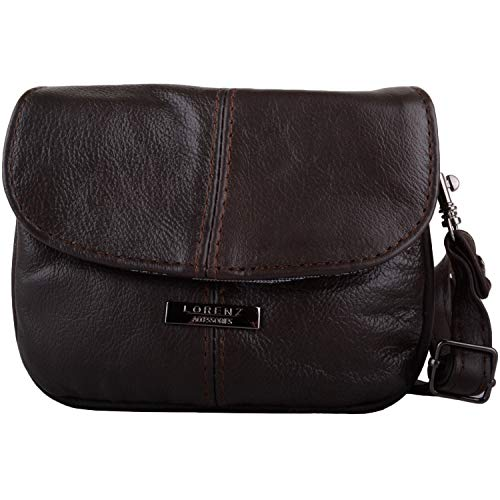 SNUGRUGS , Sac pour femme à porter à l'épaule Marron Marrone (Dark Brown) de SNUGRUGS