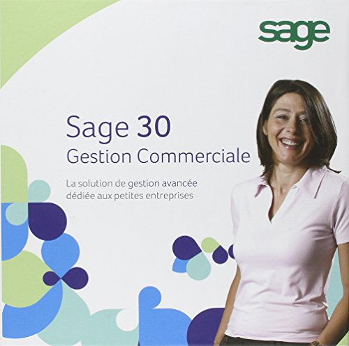 Solution gestion commerciale 30 + e-commerce 30 (1 poste) de Sage