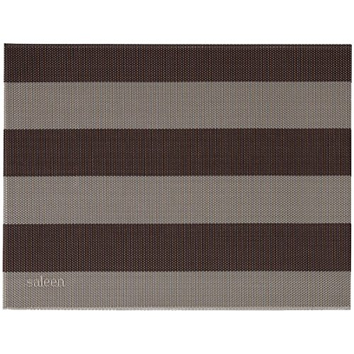 Saleen 2038762 Sets de Table Tissu Beige/Marron de Saleen