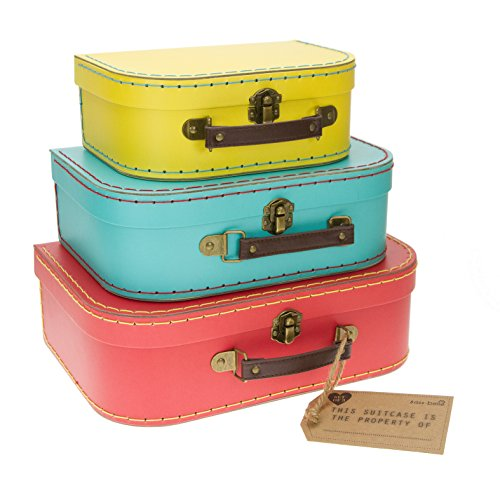 Sass and belle by RJB Stone - Valise, Trolley - Set de 3 valisettes Retro Flashy de Sass Belle