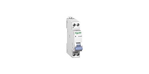 Schneider Electric 20724 Duoline XP Coupe-circuit D 'Clic, 1P + N Pole, 2 A, courbe C, Over-paintable, 81 mm de hauteur x largeur : 18 mm x 70 mm Profondeur de Schneider Electric