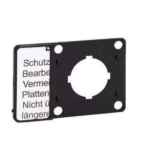 Schneider Electric Kz13 Legend Porteur, 0.060 kg de plaque Kcam Legend support de Schneider Electric