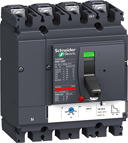 Schneider electric lv429655 nsx100 F tm32d, 4p4r de Schneider Electric