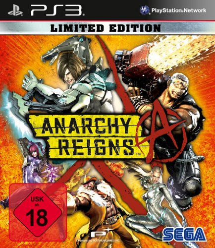 Anarchy Reigns : limited edition [import allemand] de Séga