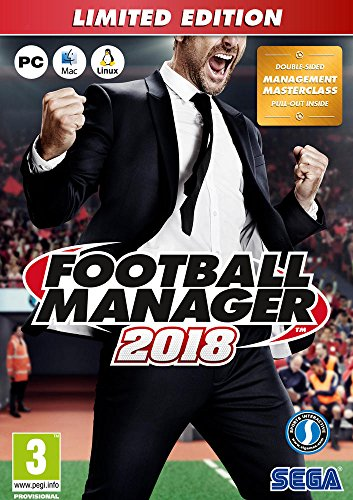 FOOTBALL MANAGER 2018 - Limited Edition ( French ) de Séga