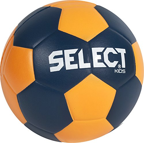 Select Ballon de Handball Kids IIIpour Enfants Bleu Bleu Marine/Orange 00 de Select