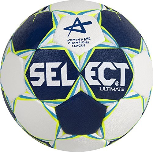 Select Ballon de handball Ultimate CL pour femme, bleu/blanc/jaune fluo, 2, 1611854205 de Select